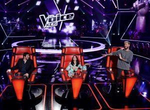 THE VOICE KIDS SAISON 4 AUDITIONS A L'AVEUGLE PARIS - 28/10/2016 . OK FIORI-OKPF . OK MATT POKORA-OKMP . OK JENIFER-OKJ